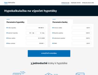 hypotekauver.sk screenshot