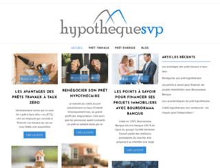 hypothequesvp.com screenshot