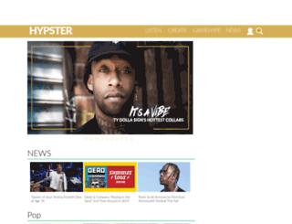 hypster.com screenshot