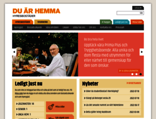 hyresbostader.se screenshot