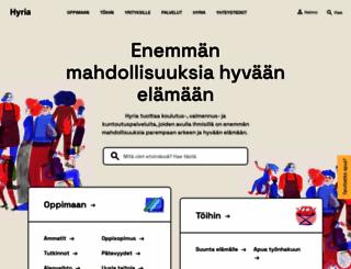 hyria.fi screenshot