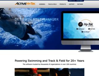 hytek.active.com screenshot