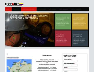 hytorccolombia.com screenshot