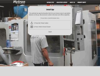 hytronmfg.com screenshot