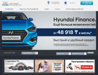hyundai-avtomir.kz screenshot