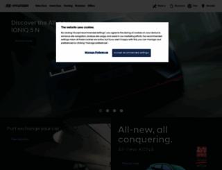 hyundai.co.uk screenshot