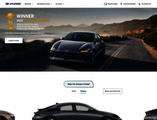 hyundai.com screenshot