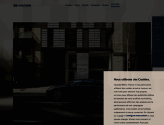 hyundai.fr screenshot