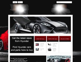 hyundai.gazzor.com screenshot