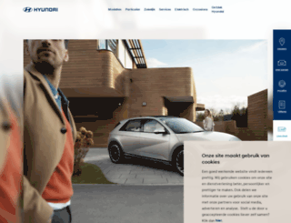 hyundai.nl screenshot