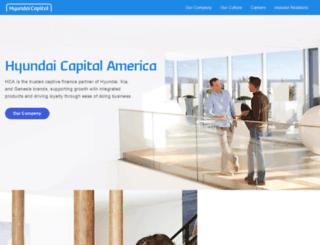 hyundaicapitalamerica.com screenshot