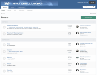 hyundaiclub.ro screenshot