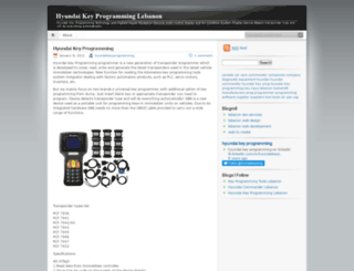 hyundaikeyprogramming.wordpress.com screenshot