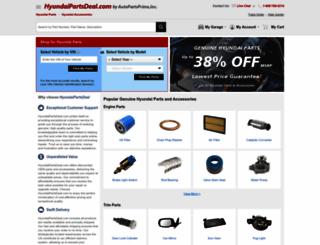 hyundaipartsdeal.com screenshot