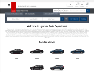 hyundaipartsdepartment.com screenshot