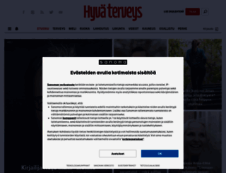 hyvaterveys.fi screenshot
