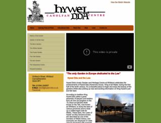 hywel-dda.co.uk screenshot