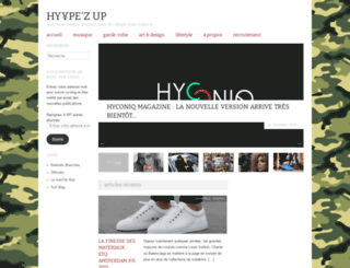 hyypezup.wordpress.com screenshot