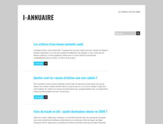 i-annuaire.net screenshot
