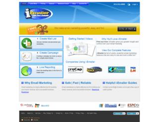 i-emailer.com screenshot