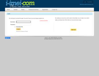 i-imei.com screenshot