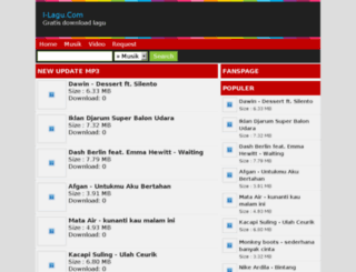 i-lagu.com screenshot