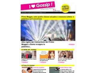 i-love-gossip.it screenshot