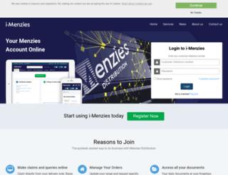 i-menzies.com screenshot