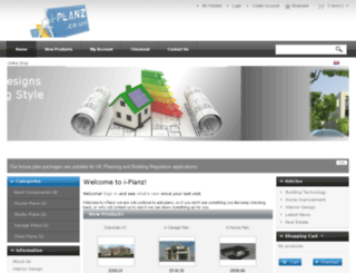 i-planz.co.uk screenshot