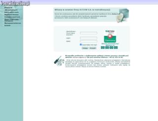 i-serwis.action.pl screenshot