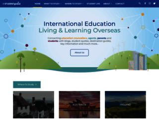 i-studentglobal.com screenshot