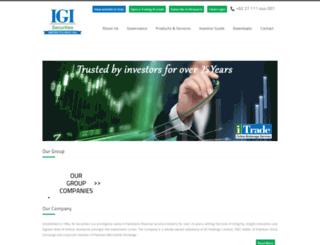 i-trade.com.pk screenshot