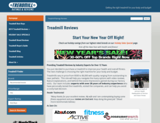 i-treadmillreviews.com screenshot