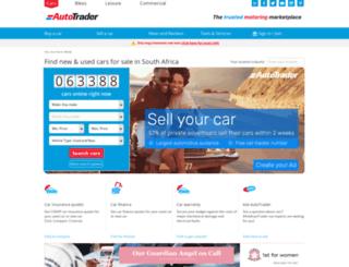 i.autotrader.co.za screenshot