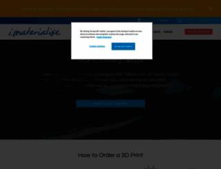 i.materialise.com screenshot
