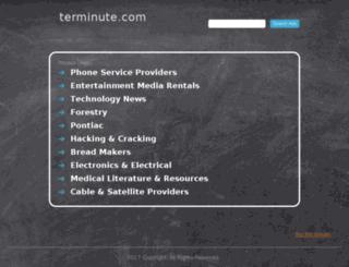 i.terminute.com screenshot