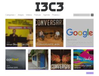 i3c3.com.br screenshot