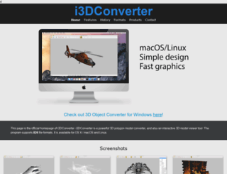 i3dconverter.com screenshot