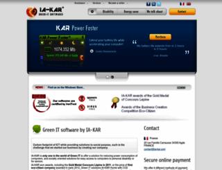 ia-kar.com screenshot