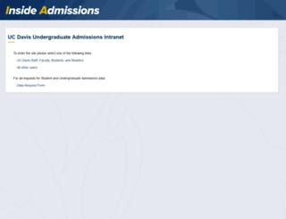 ia.ucdavis.edu screenshot