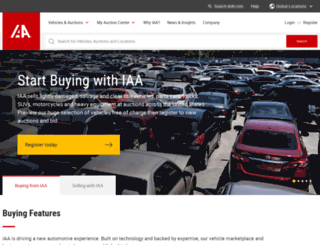iaai-bid.com screenshot