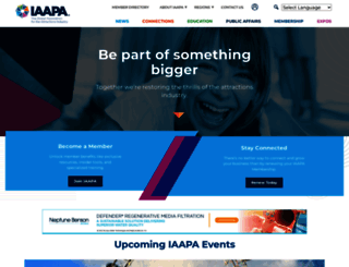 iaapa.org screenshot