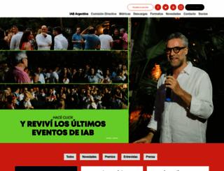 iabargentina.com.ar screenshot