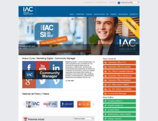iac.com.ar screenshot