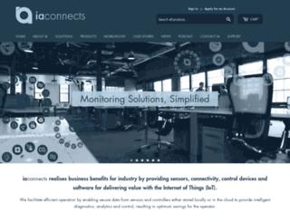 iaconnects.co.uk screenshot