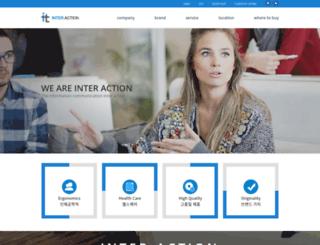 iaction.co.kr screenshot