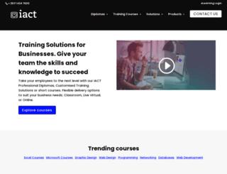 iactonline.com screenshot