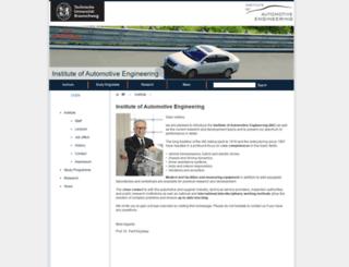 iae.tu-bs.de screenshot