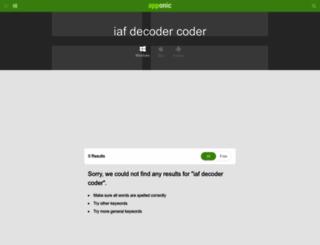 iaf-decoder-coder.apponic.com screenshot
