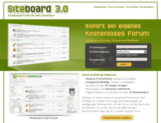 iaf.siteboard.de screenshot